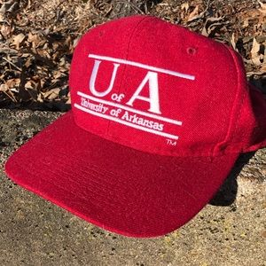 Vintage University of Arkansas Snapback